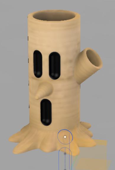 Capture.PNG Download free STL file Whispy Woods pen holder • 3D print design, Zawarudo