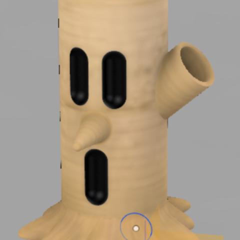 Download free 3D printing designs Whispy Woods pen holder, Zawarudo