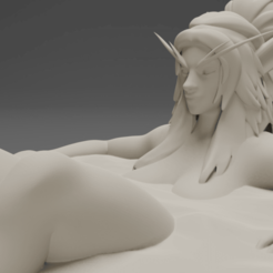 Free 3D printer designs Sexy Elf Bath, CarlCreates