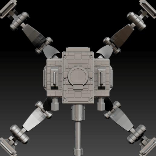 01.png Télécharger fichier STL gratuit Possible Réservoir Sci-Fi - MK 01 • Plan imprimable en 3D, CarlCreates