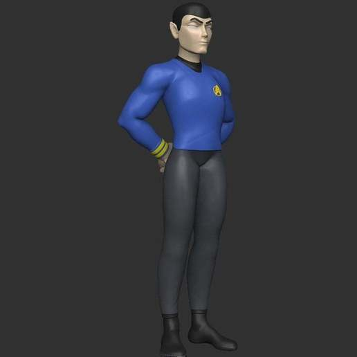 Download free 3D model Stylized Spock, CarlCreates
