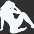 07.png Télécharger fichier STL Pack Silhouette Sexy • Objet imprimable en 3D, CarlCreates