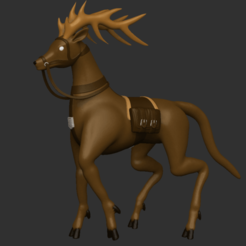 Download free 3D printer designs Deer-Like Mount, CarlCreates