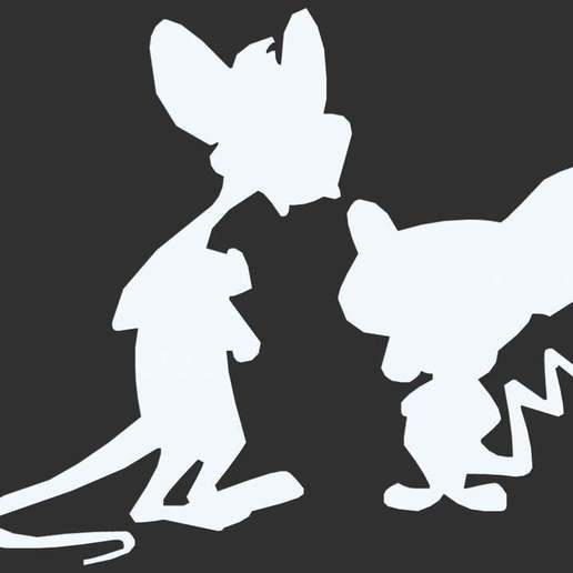 Download free 3D printing files Cartoon Silhouette Sample, CarlCreates