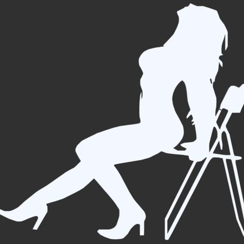 15.png Télécharger fichier STL Pack Silhouette Sexy • Objet imprimable en 3D, CarlCreates