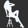 27.png Télécharger fichier STL Pack Silhouette Sexy • Objet imprimable en 3D, CarlCreates