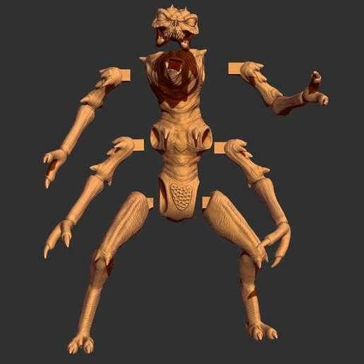 01.jpg Télécharger fichier STL gratuit Brundlefly Jr Full Body • Design pour impression 3D, CarlCreates