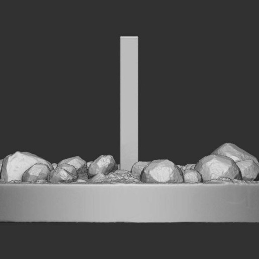 download free obj file 2001 a space odyssey monolith scene design to 3d print cults 2001 a space odyssey monolith scene