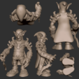 02.png Download free STL file Goblin Assassin • 3D printing template, CarlCreates
