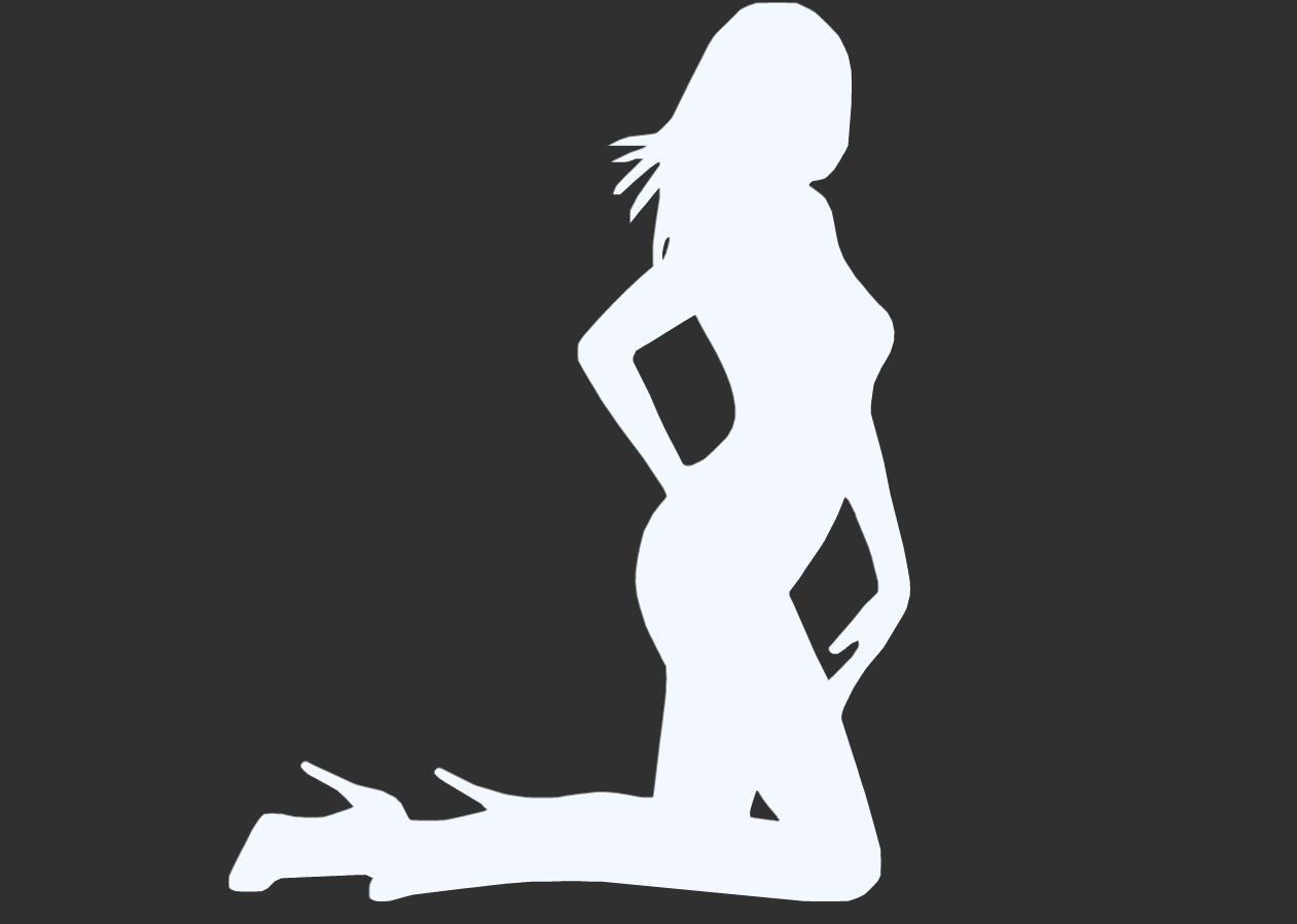 20.png Télécharger fichier STL Pack Silhouette Sexy • Objet imprimable en 3D, CarlCreates