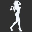 03.png Télécharger fichier STL Pack Silhouette Sexy • Objet imprimable en 3D, CarlCreates