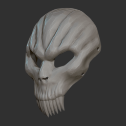 Download 3D printing designs Skull Mask, CarlCreates
