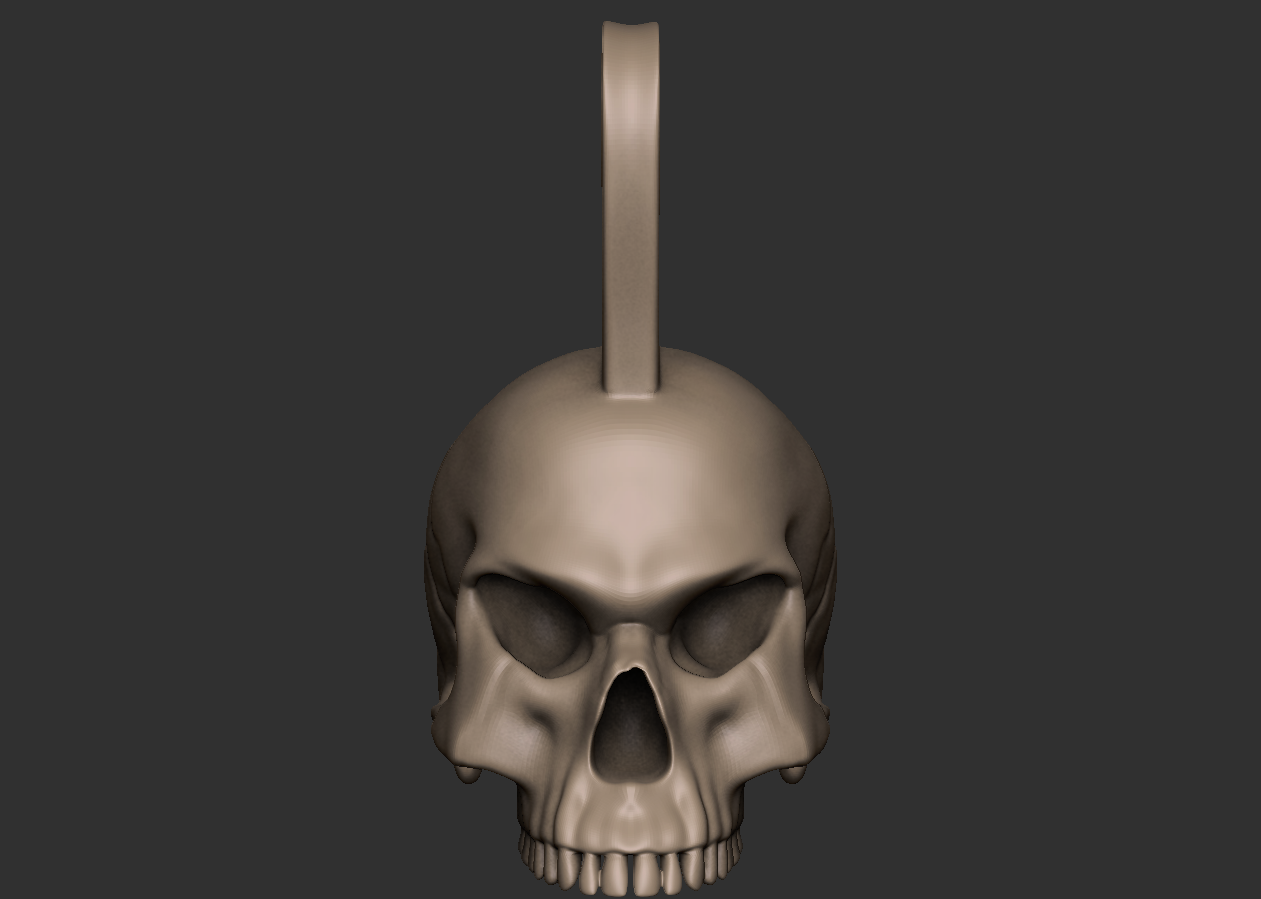 01.png Download free OBJ file Punk skull • 3D printer model, CarlCreates