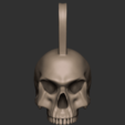 Download free 3D printer designs Punk skull, CarlCreates