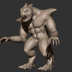 Download free 3D print files Monster Quicksculpt, CarlCreates
