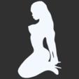 01.png Télécharger fichier STL Pack Silhouette Sexy • Objet imprimable en 3D, CarlCreates