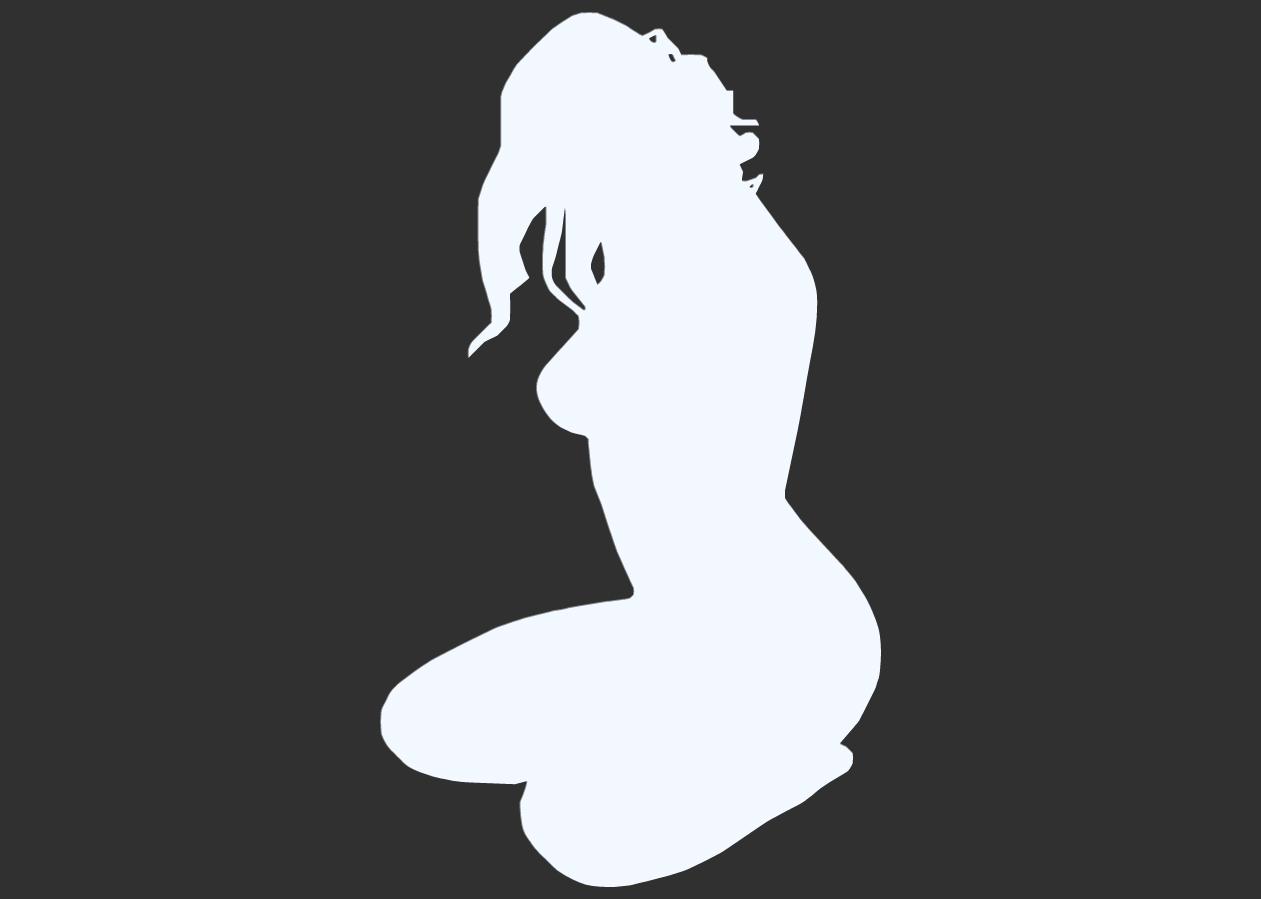 12.png Télécharger fichier STL Pack Silhouette Sexy • Objet imprimable en 3D, CarlCreates