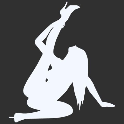 02.png Télécharger fichier STL Pack Silhouette Sexy • Objet imprimable en 3D, CarlCreates