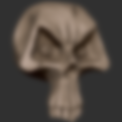 Skull.stl Download free STL file Stylized Skull • 3D printer template, CarlCreates