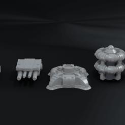 01.png Download STL file Defense Pack 01 • 3D printing model, CarlCreates