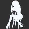10.png Télécharger fichier STL Pack Silhouette Sexy • Objet imprimable en 3D, CarlCreates