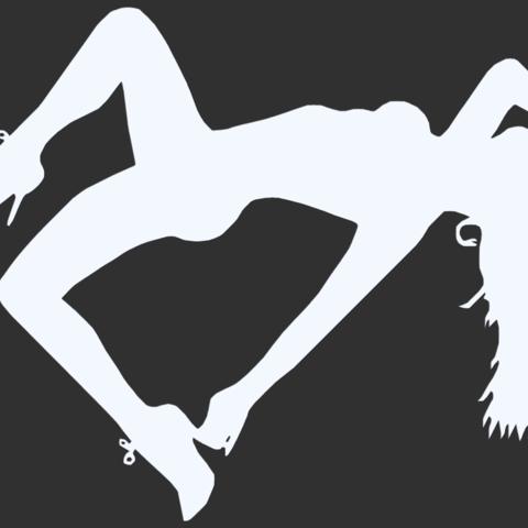 13.png Télécharger fichier STL Pack Silhouette Sexy • Objet imprimable en 3D, CarlCreates