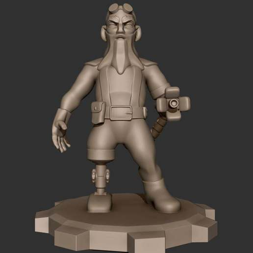 Download free 3D printer templates Old McLoad, CarlCreates