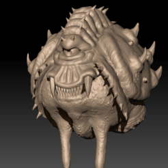 Download free 3D printer files Doom Eternal - Cacodemon, CarlCreates