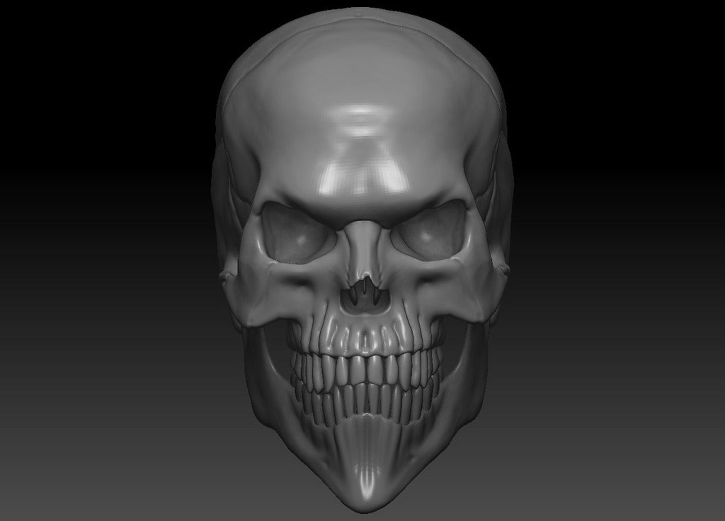 d9b6f4554ead74cebd62effb6a671a52_display_large.jpg Download free OBJ file Evil Skull 3D Print Concept • 3D printer template, CarlCreates