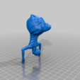 Download free OBJ file Spider creature thing • 3D printer object, CarlCreates