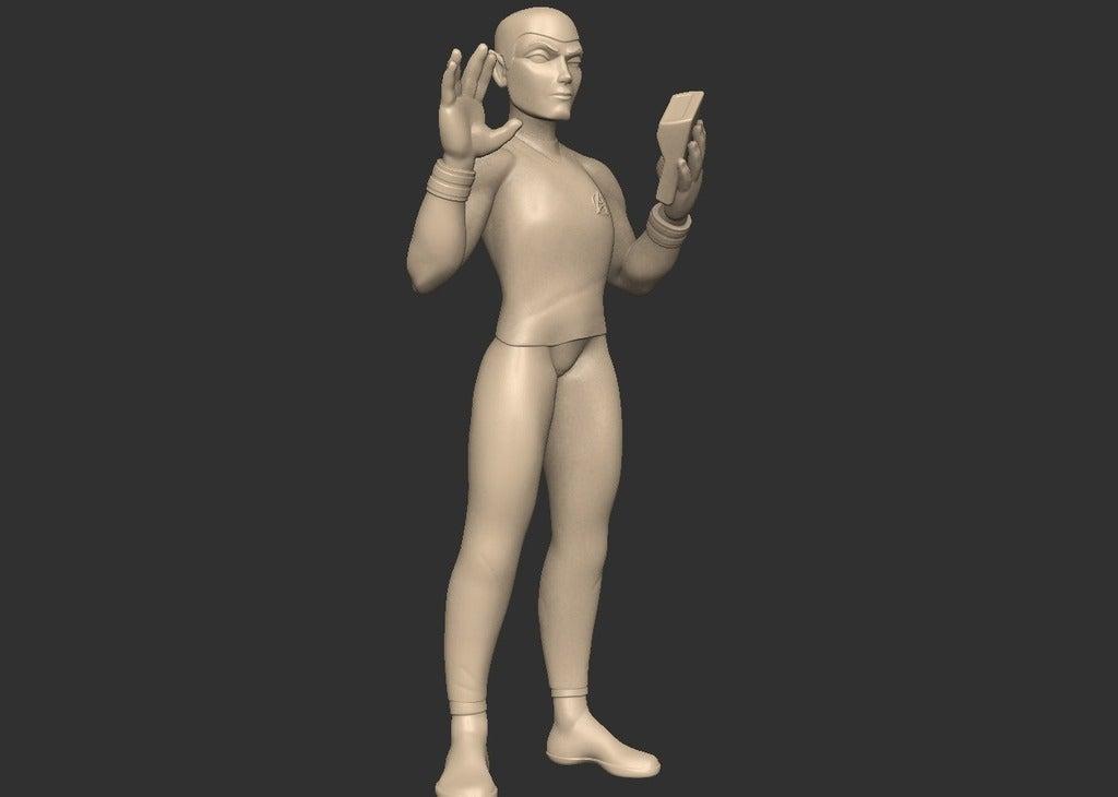 a42f4179534855e6e7ea305a62939700_display_large.jpg Télécharger fichier STL gratuit Spock stylisé - Pose 2 • Plan imprimable en 3D, CarlCreates