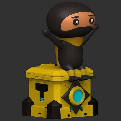 Download free 3D printer model DLive Ninja ・ La Poste
