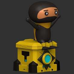 Download free 3D printer model DLive Ninja, CarlCreates
