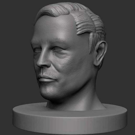 Download free 3D print files Elon Musk, CarlCreates