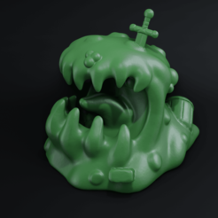 00a.png Download STL file Slime / Ooze • 3D print template, CarlCreates