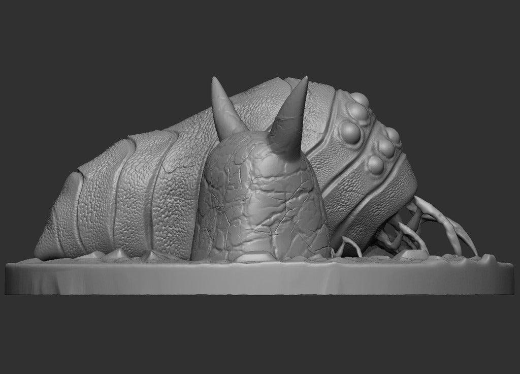 79d59b191996ede84d98442fd4613cb0_display_large.jpg Download free STL file Ohmu Scene and Lone 3D Print Concept • 3D print model, CarlCreates