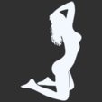 09.png Télécharger fichier STL Pack Silhouette Sexy • Objet imprimable en 3D, CarlCreates