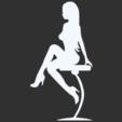 18.png Télécharger fichier STL Pack Silhouette Sexy • Objet imprimable en 3D, CarlCreates