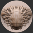 04.png Download free OBJ file Predator Bust • Object to 3D print, CarlCreates
