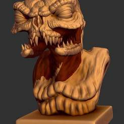 Descargar Modelos 3D para imprimir gratis Busto de Brundlefly Jr. (The Fly 2 - 1989), CarlCreates