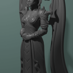 Download 3D print files Stylized Lylith, CarlCreates