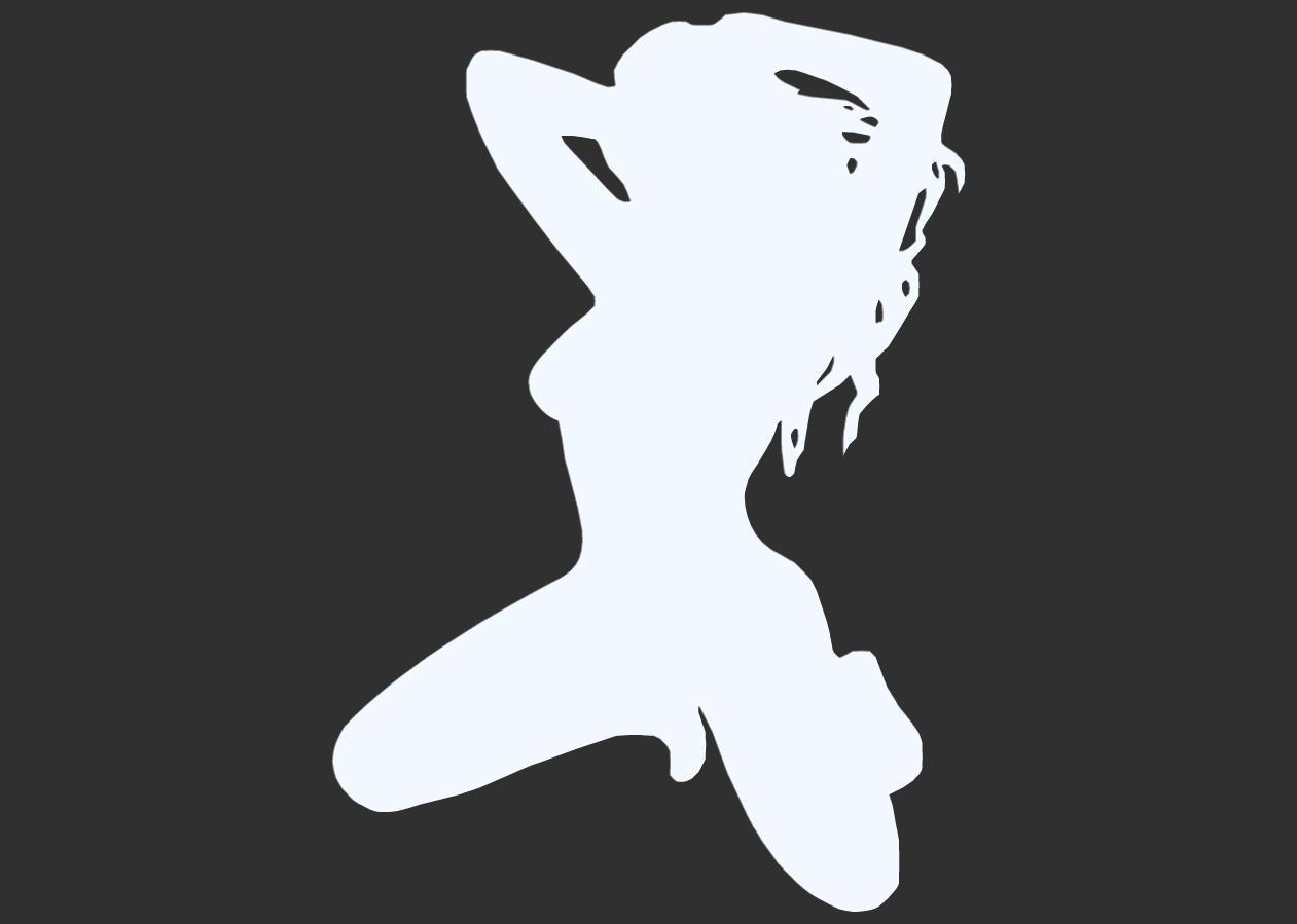11.png Télécharger fichier STL Pack Silhouette Sexy • Objet imprimable en 3D, CarlCreates
