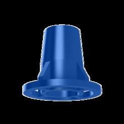 Descargar modelos 3D gratis Junta del separador de flujo del radiador de una tubería, jpi066