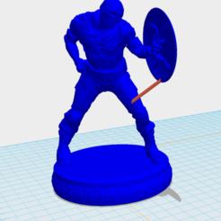 Download 3D printing templates CAPTAIN AMERICA STUFF, leonardomarkides
