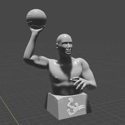 Free 3D printer model Water Polo player, Feri2143
