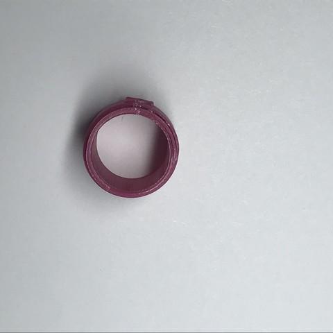 3D print model ring for bills, 3dmaker_phill