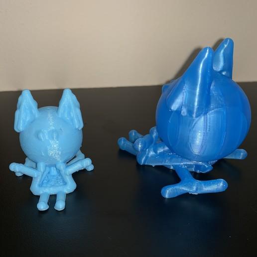 side_cat.jpg Download free STL file Toy Flying  Cat • Design to 3D print, gafnorin