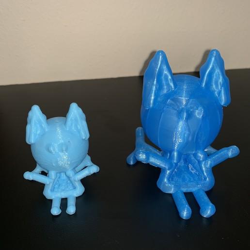 Download free 3D printer designs Toy Flying  Cat, gafnorin