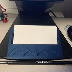 Télécharger plan imprimante 3D gatuit Porte-cartes professionnelles, gafnorin
