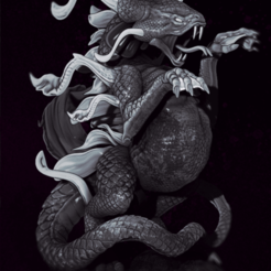 Download 3D printing designs Sythiss The Swamp Dragon, drahoslibor